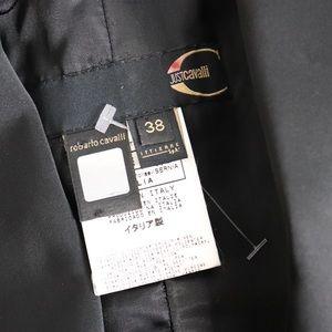 Roberto Cavalli Jackets & Coats - Just Cavalli Floral Embroidered Blazer Jacket 38